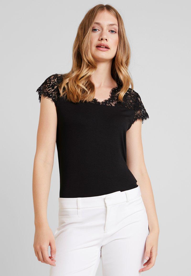 NAF NAF - HELENE - Basic T-shirt - noir