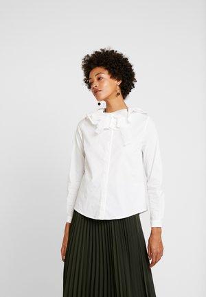 LUNA - Button-down blouse - ecru