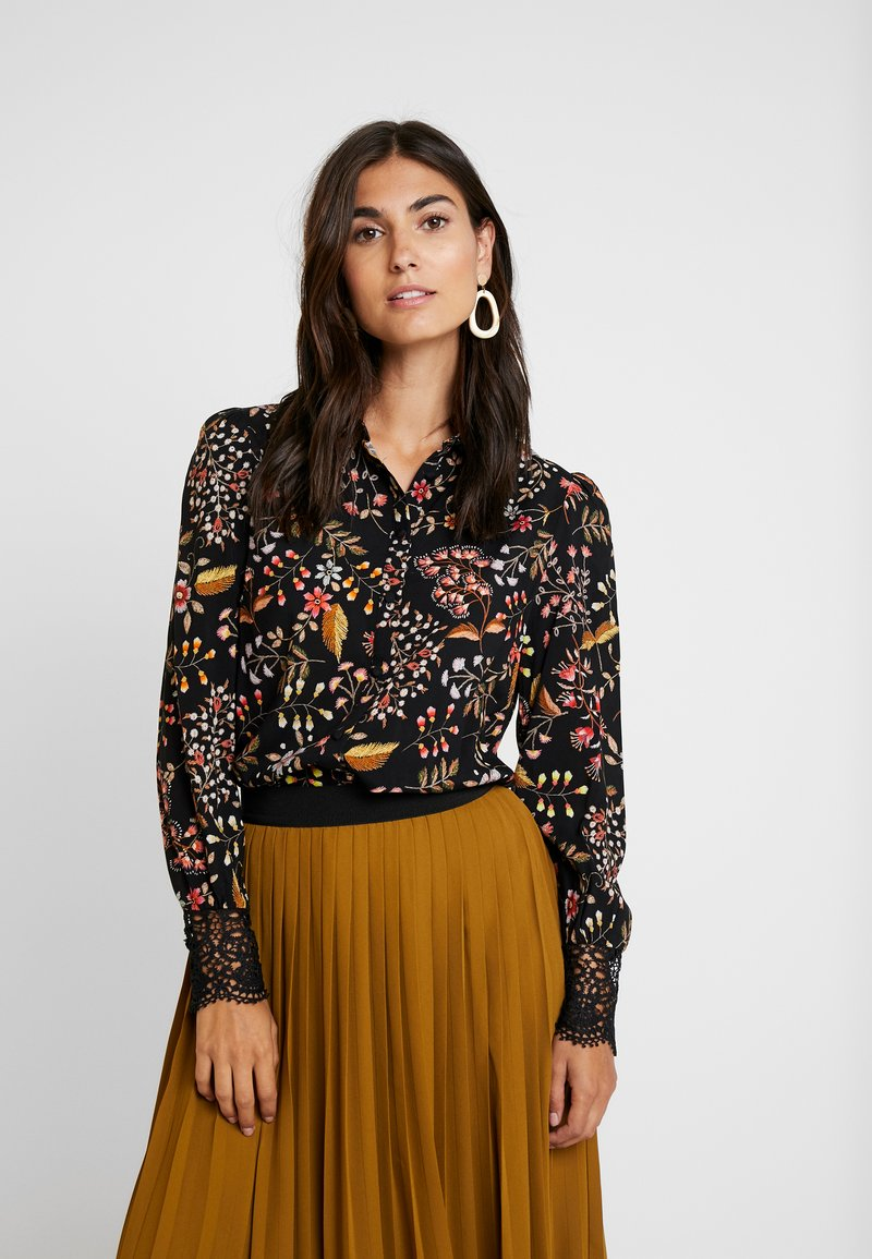 NAF NAF - LACHERIE - Bluse - imprime