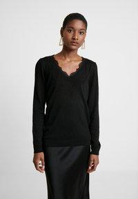 NAF NAF - MITOU LONG NEW - Pullover - noir - 0