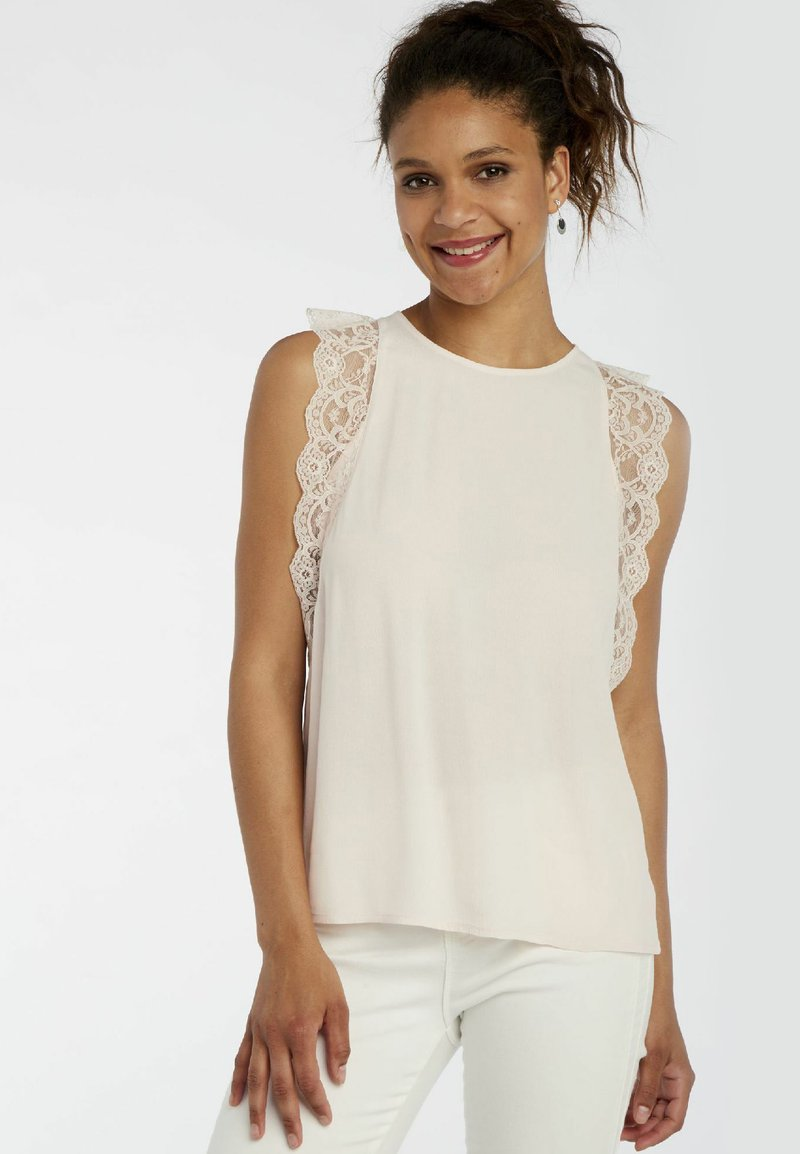 NAF NAF - Blouse - off-white