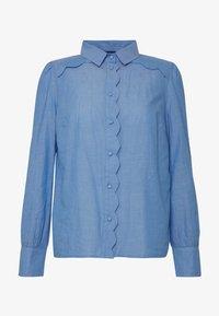NAF NAF - CHAMBRE - Button-down blouse - light blue - 5