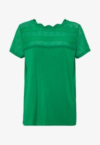NAF NAF - OLILA - T-shirt print - vert rio - 4