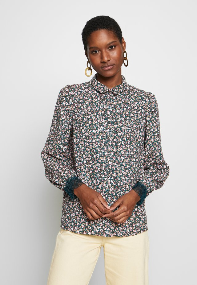 LACHERIE - Button-down blouse - multi-coloured