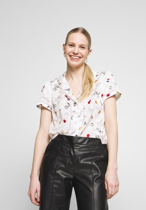 LAMOURECRU  - Button-down blouse - lamour ecru
