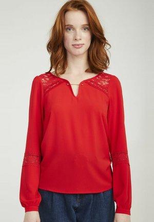 MENT - T-shirt à manches longues - red