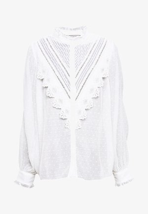 BEAUTE - Button-down blouse - ecru