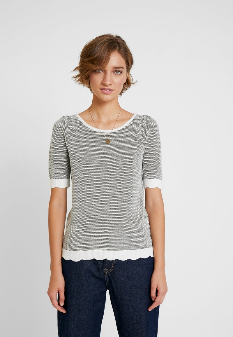 NAF NAF - COCOMC - Print T-shirt - ecru