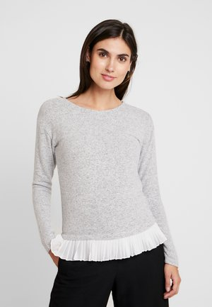 ALMOST - Jumper - gris chine/ecru