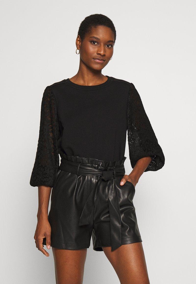 NAF NAF - SHARON - Stickad tröja - noir