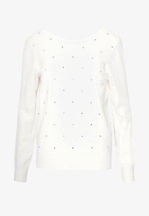 DOTS - Pullover - ecru