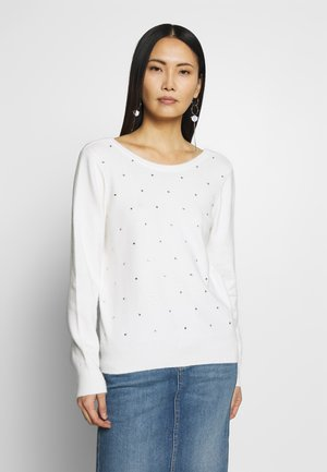 DOTS - Jumper - ecru