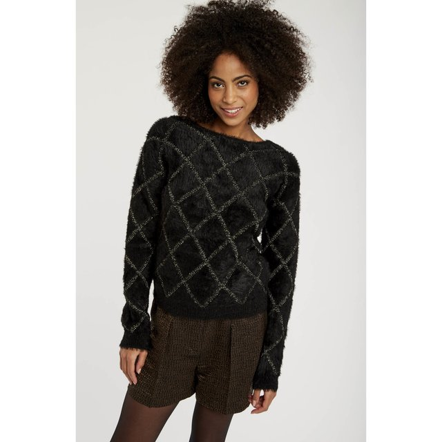 Fleece jumper - blacknoir