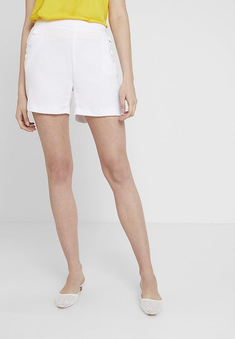 NAF NAF - MARIO - Shorts - blanc