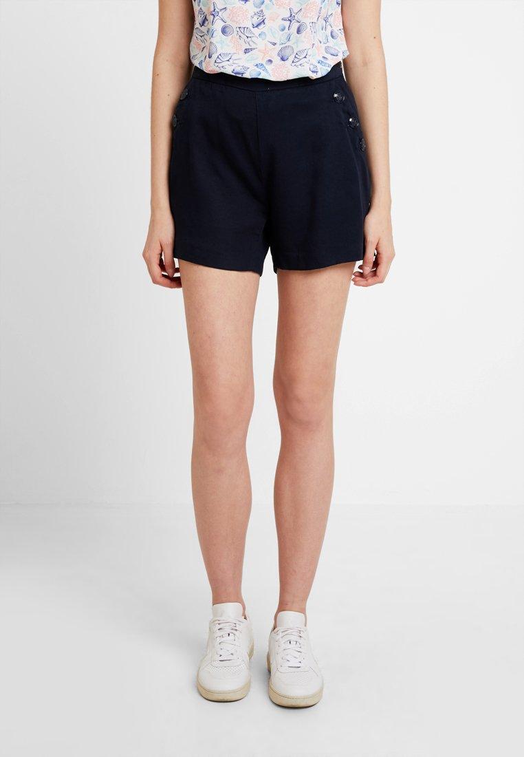 NAF NAF - MARIO - Shorts - bleu marine