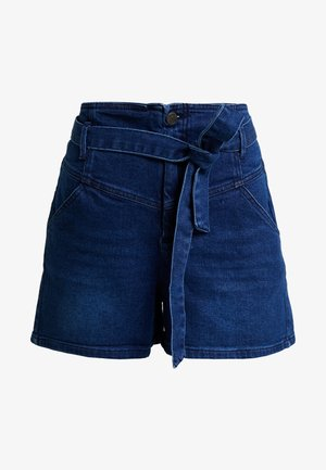 RITA - Denim shorts - dark blue