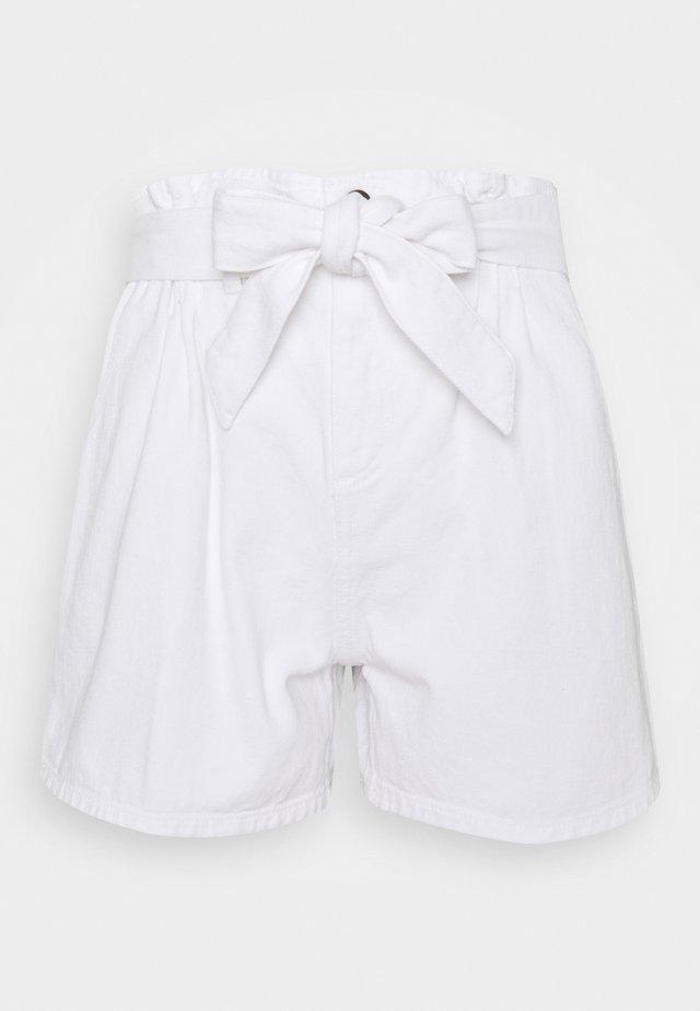 NORA - Shorts vaqueros - ecru