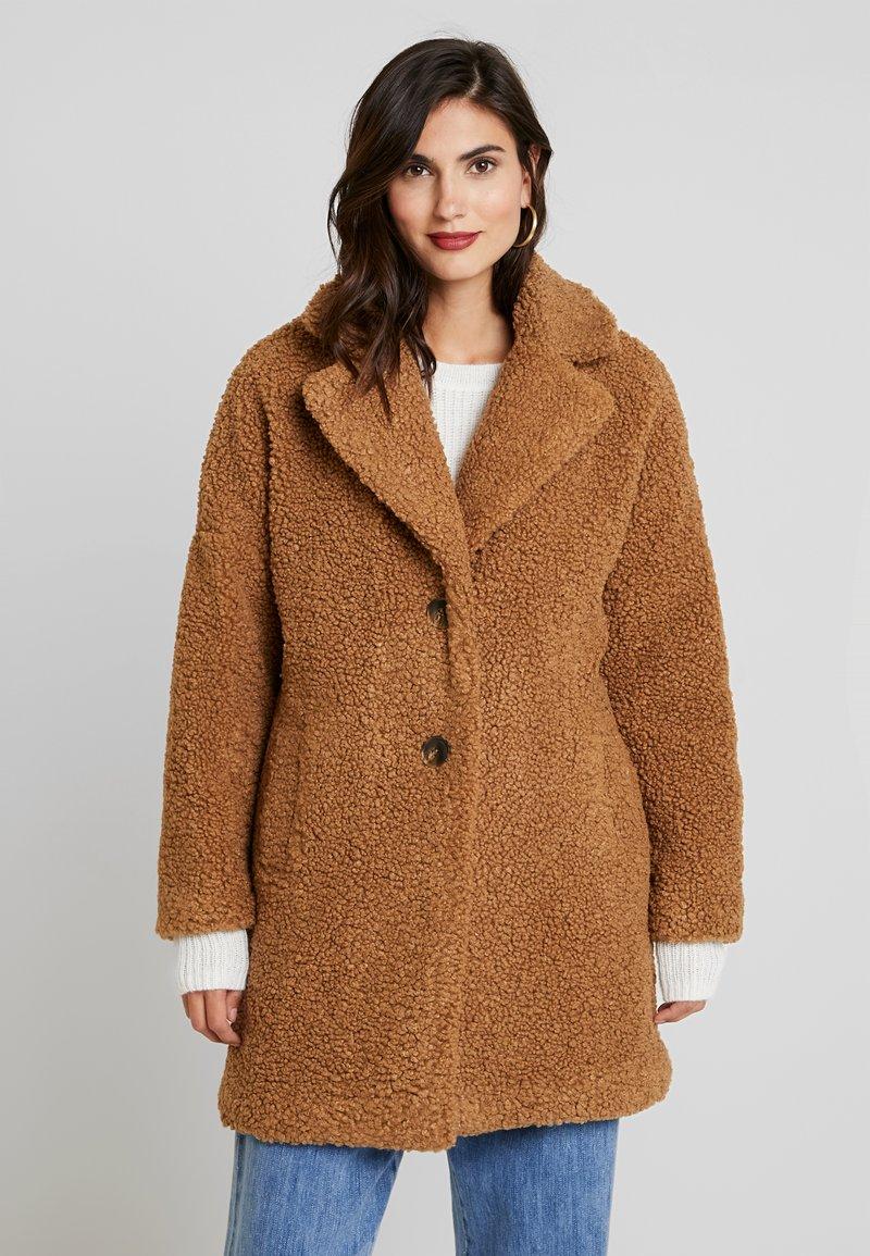 NAF NAF - BIPROTEST - Zimní kabát - camel