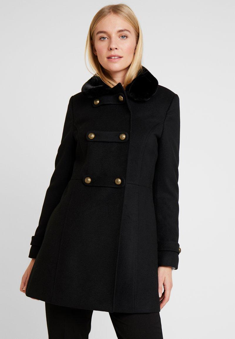 NAF NAF - ABRENDA - Halflange jas - noir