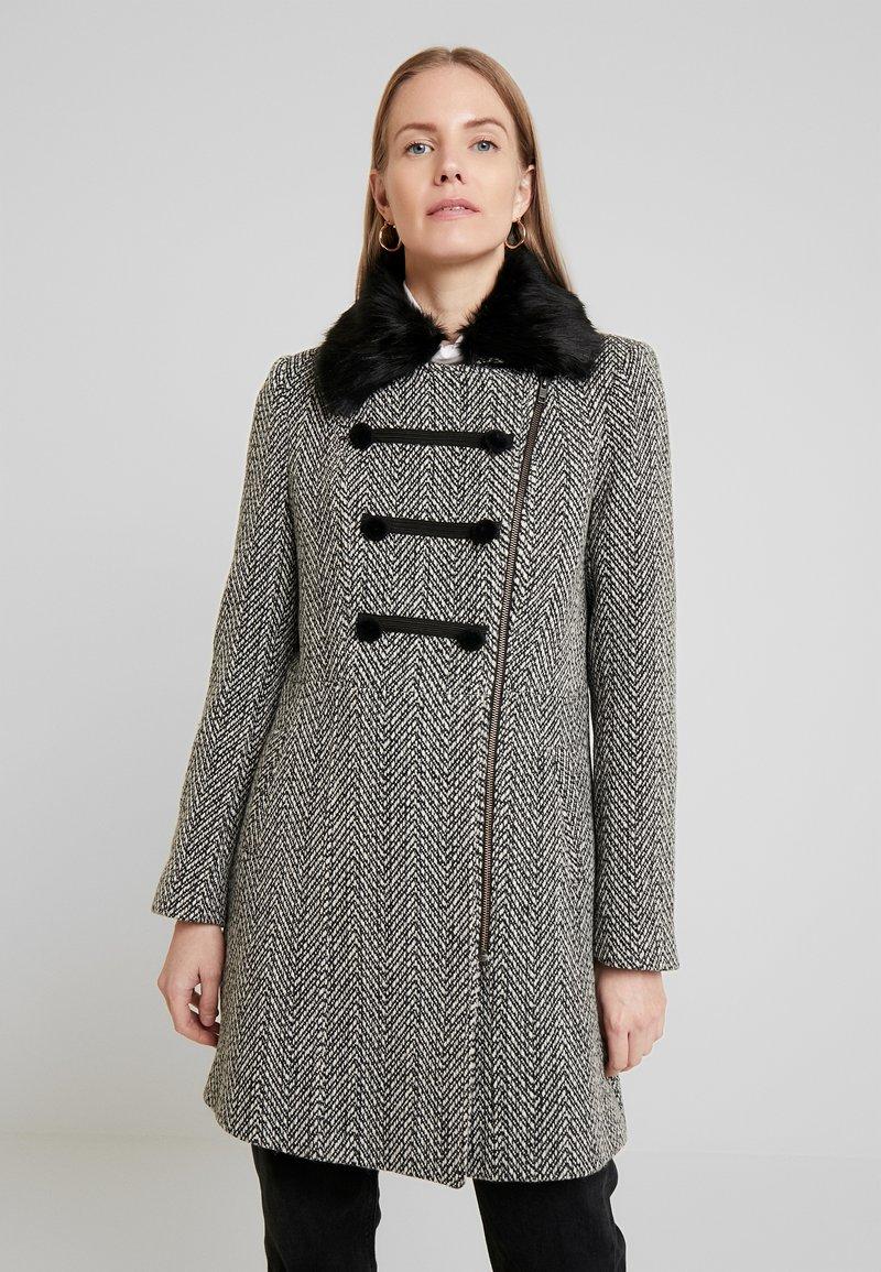 NAF NAF - ALILI CHEVRON - Classic coat - fantaisie