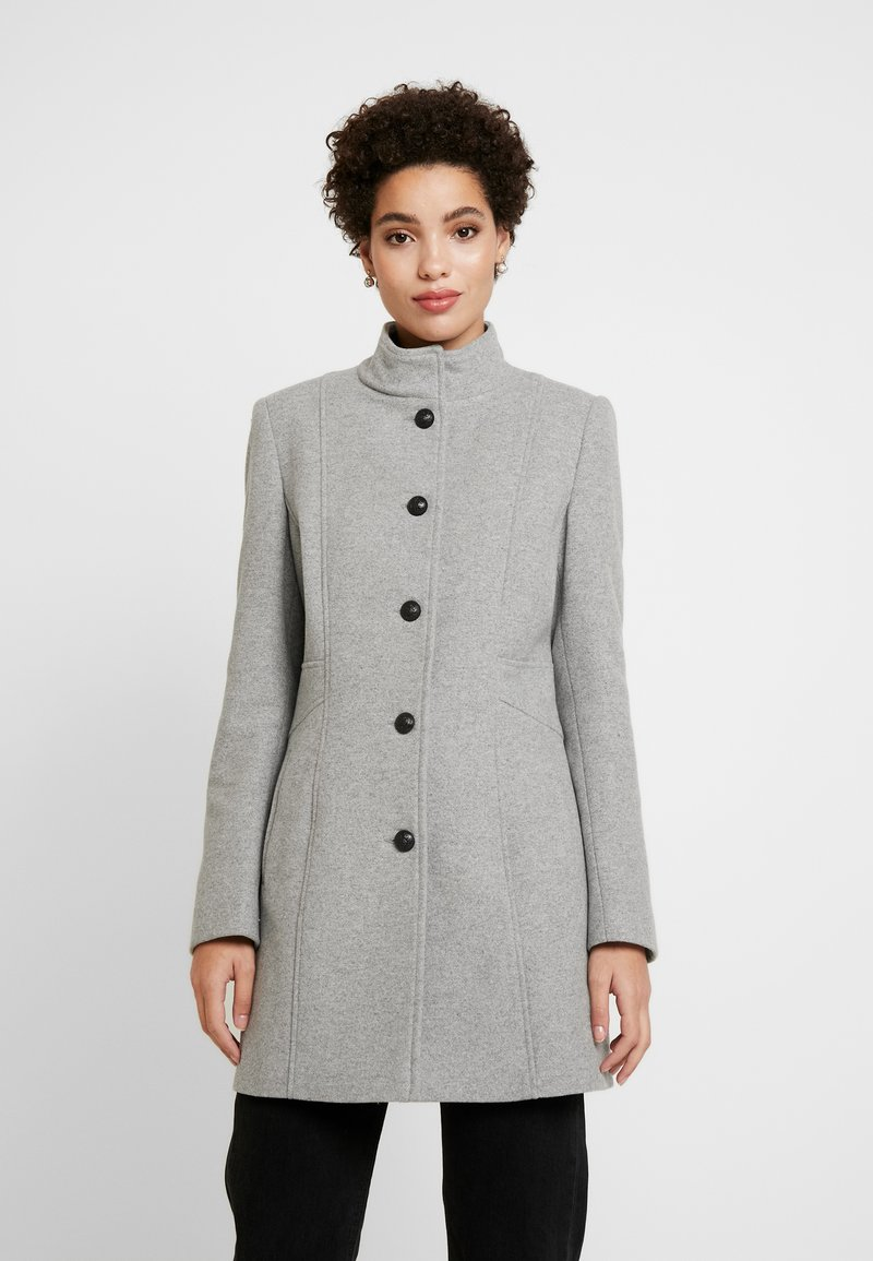 NAF NAF - AMAYA - Manteau court - gris clair