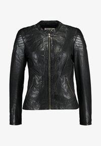 NAF NAF - CLIM - Leather jacket - black - 4