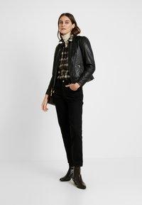 NAF NAF - CLIM - Leather jacket - black - 1