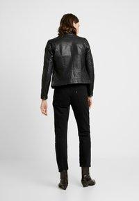 NAF NAF - CLIM - Leather jacket - black - 2