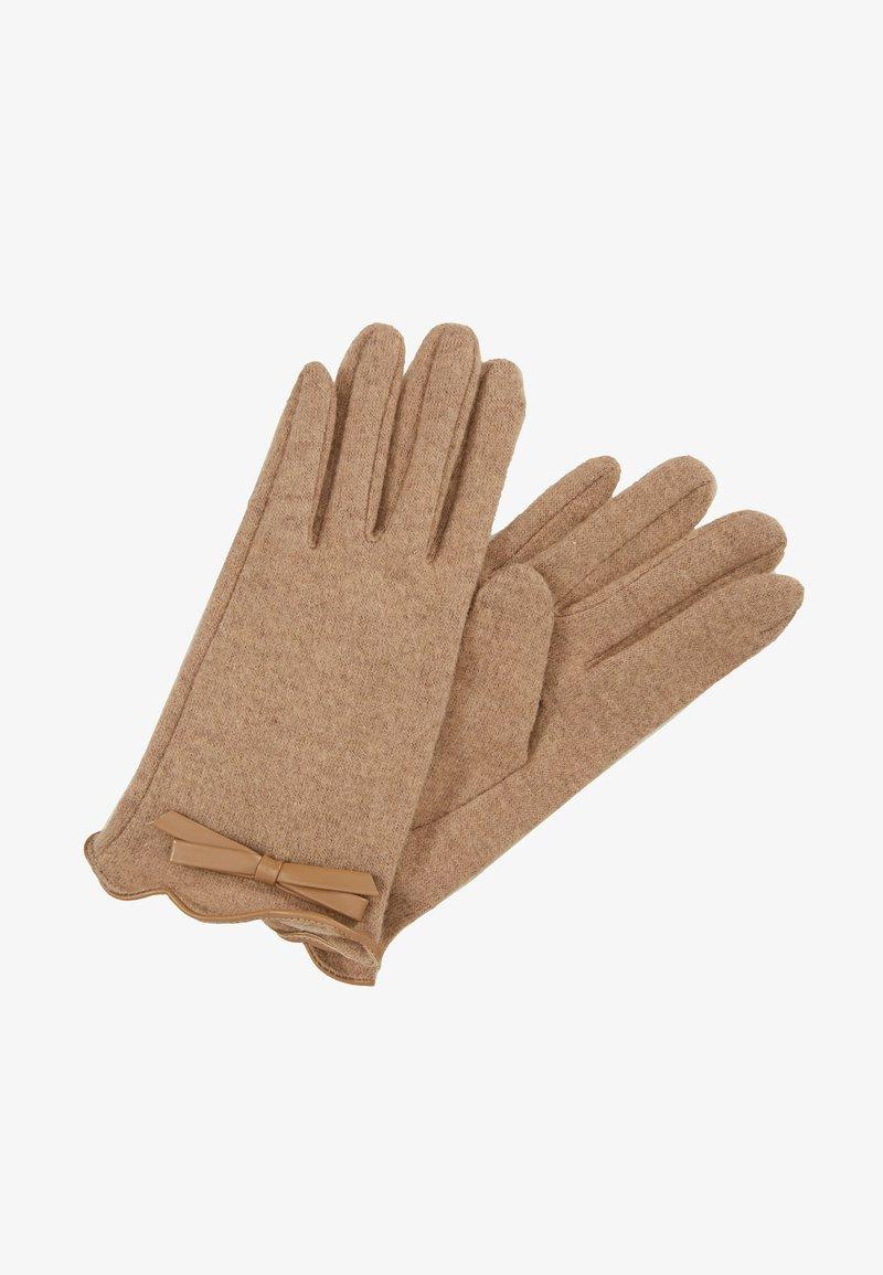 NAF NAF - Fingerhandschuh - camel