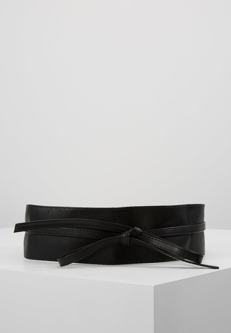 NAF NAF - SKIMONO - Ceinture taille haute - noir