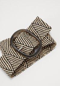 NAF NAF - SCAPE - Waist belt - offwhite/black - 4