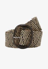 NAF NAF - SCAPE - Waist belt - offwhite/black - 3