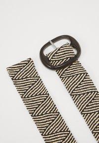 NAF NAF - SCAPE - Waist belt - offwhite/black - 2