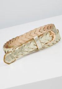 NAF NAF - STONES - Ceinture - light gold-coloured - 2