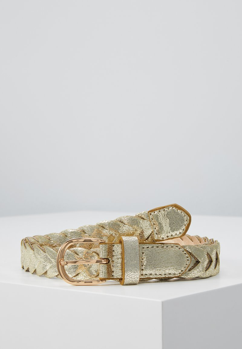 NAF NAF - STONES - Ceinture - light gold-coloured