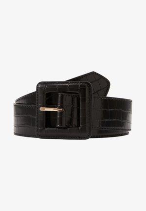 CROCO - Waist belt - noir