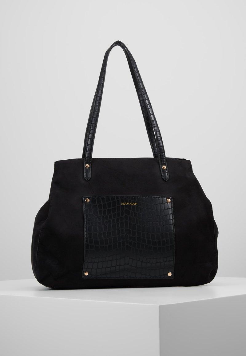 NAF NAF - RBAGGY - Shopping Bag - noir