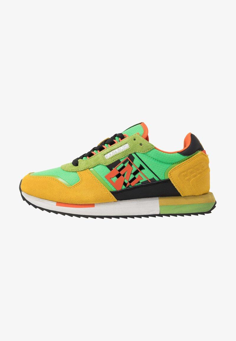 Napapijri - Trainers - green/yellow/multicolor