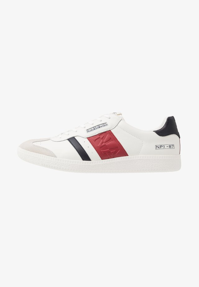 Sneakers - white/red/navy