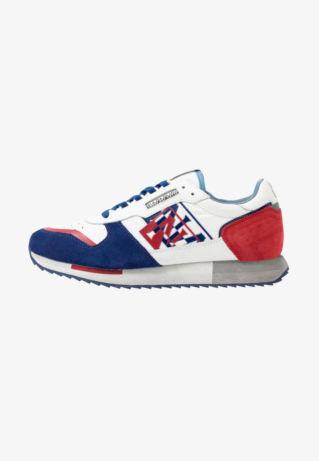Sneakers - white/navy/red
