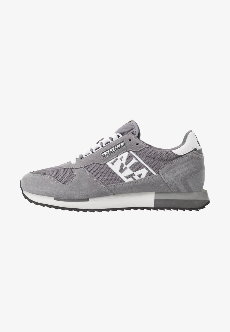 Napapijri - Sneakersy niskie - dark grey solid