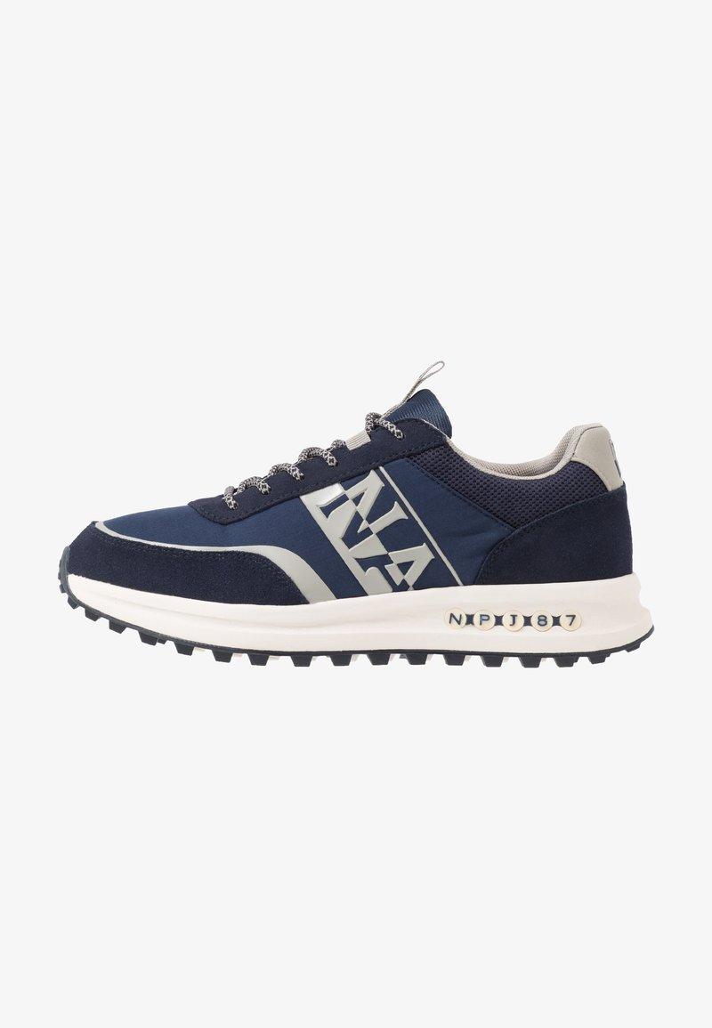 Napapijri - Sneakersy niskie - blue marine