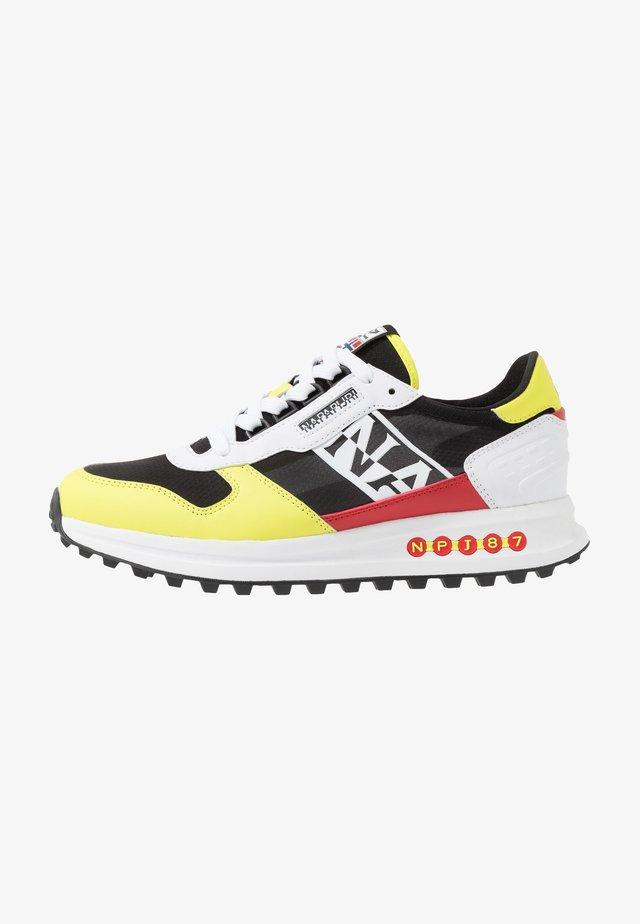 Sneakers laag - yellow/black