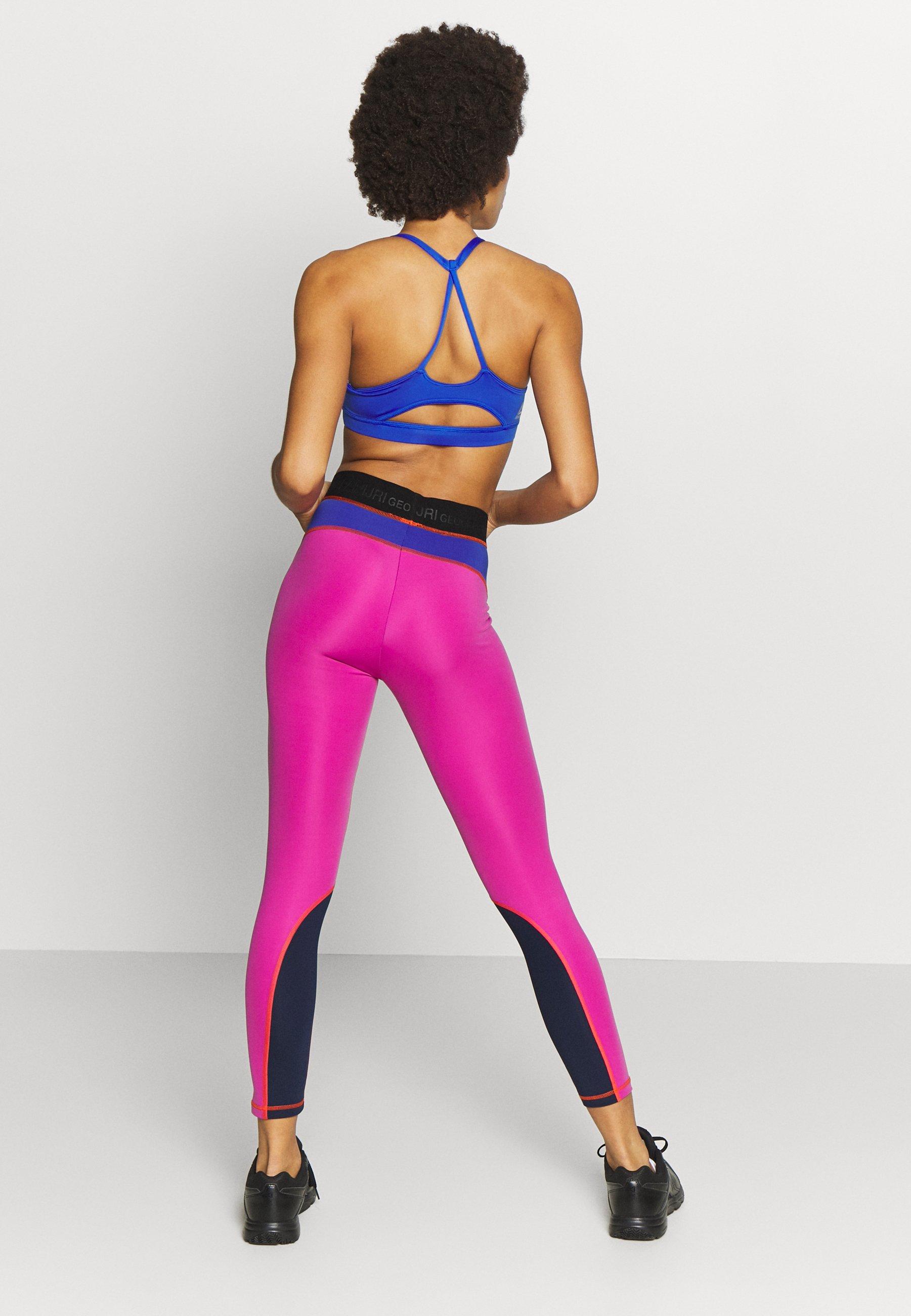 Napapijri MILBE - Legginsy - blu/purple