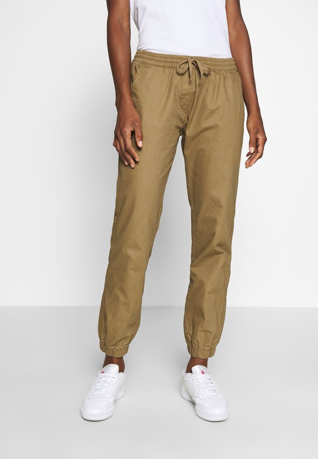 MAREE - Pantalones deportivos - kangaroo brown