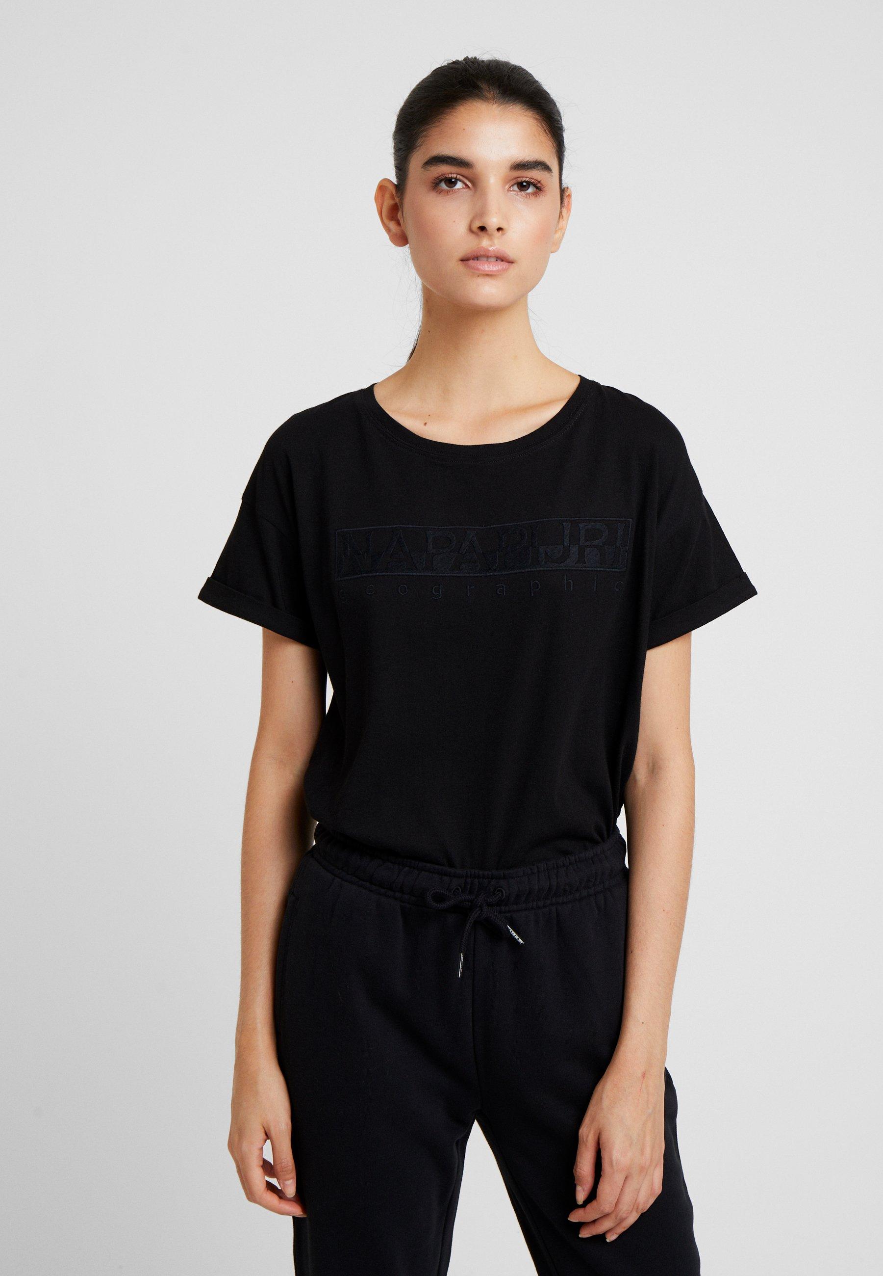 Con Serber shirt Napapijri Stampa WomT Black 35ARj4L