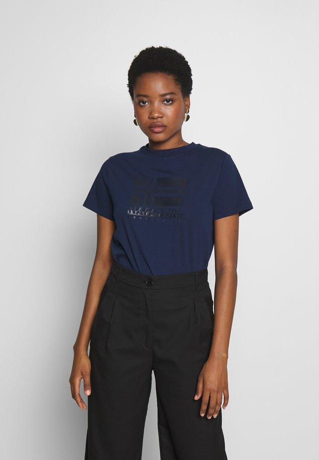SHYAMOLI - T-Shirt print - medieval blue