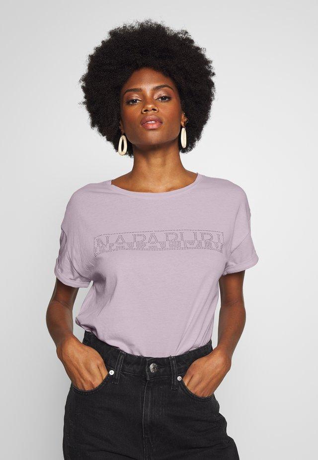 SICCARI - T-shirt z nadrukiem - petal pink