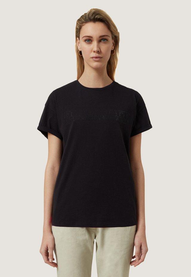 SICCARI - Camiseta estampada - black