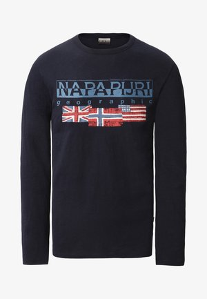 SCOTT - Maglietta a manica lunga - blue marine